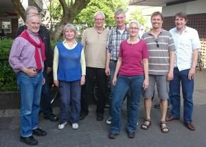 Die Grünen trafen sich mit der Bürgerinitiative Hamannplatz