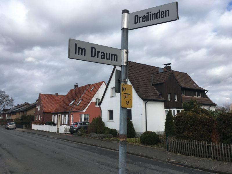 Straßenkreuzung in Sprakel
