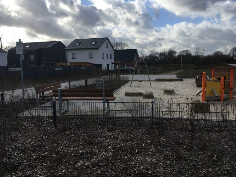 Spielplatz im Neubaugebiet Nördlich der Landwehr