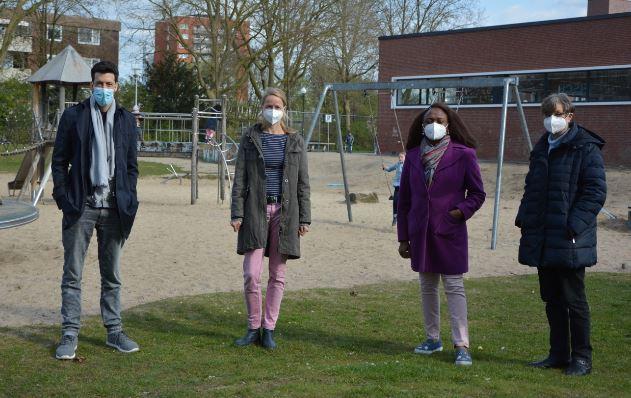 Kreative Bewegungsangebote für Kinder in Coerde :GRÜNE und SPD fordern Aufwertung des Spielplatzes am Hamannplatz